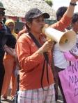 Salah Satu Korban Penangkapan Aktivis dan Petani di Banggai Eva Susianti koordinator Front Rakyat Anti Sawit (FRAS) Sulawesi Tengah.